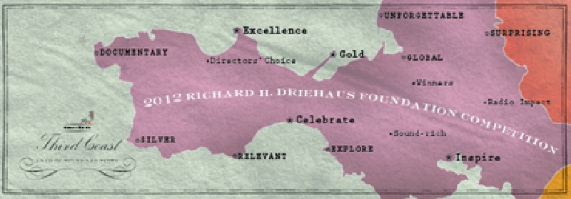 2012 Third Coast / Richard H. Driehaus Foundation Competition banner