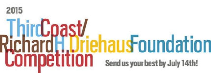 2015 Third Coast / Richard H. Driehaus Foundation Competition banner