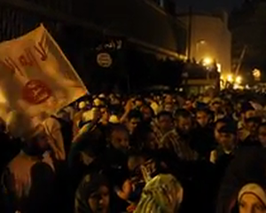 Egyptian Demonstrators Enraged by an American Film Besiege the US Embassy
