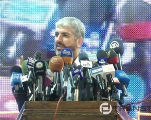 Hamas' Mashaal in Cairo Urges Arab Leaders to 'Liberate Jerusalem'