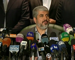 Hamas Leader Mashaal: Israel Asked for Ceasefire