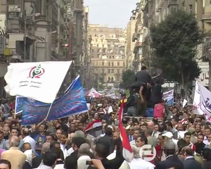 Protesters Reject Morsi&#x27;s Declaration