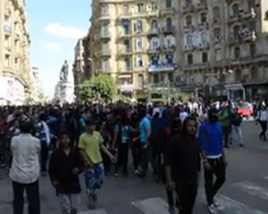 Black Bloc March In Cairo (1 of 4)