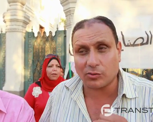 Egyptians Protest at the Presidential Palace Part 1