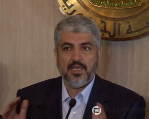 President Morsi and Hamas Leader Meshal Discuss Inter-Palestinian Reconciliation   