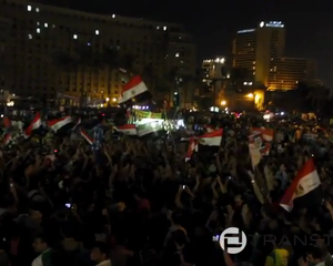 Egyptians Flock To Tahrir After Morsi Ordered Tantawi And Annan To Retire