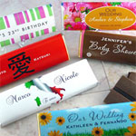 Personalized Chocolate Favors