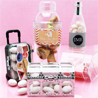 Clear & Frosted Favor Boxes