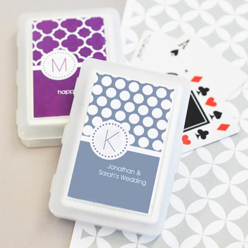 MOD Pattern Monogram Playing Cards