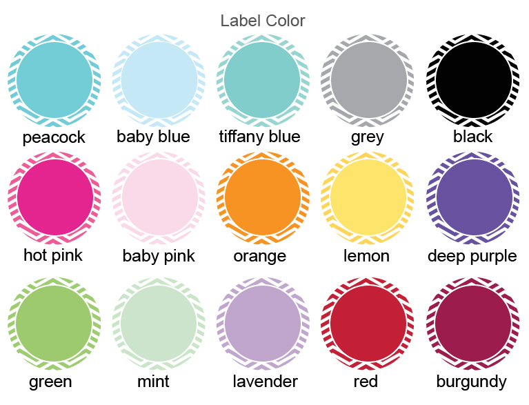 Label Color