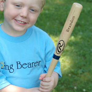 Mini Rawlings Personalized Baseball Bat