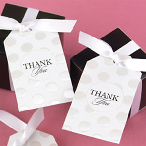 Thank You Favor Hang Tags - 25 pieces