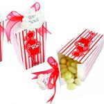 """""""About to Pop"""" Popcorn Favor Box - 24 pcs"""