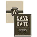 Bistro Bliss Save The Date Card