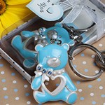 Blue Teddy Bear Key Chains