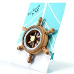 Boat Wheel Magnet Favor - set of 6