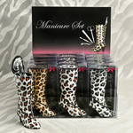 Boot Shaped Manicure Kit
