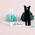 Bride and Groom Favor Bags - 12 pcs