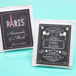 Chalkboard Personalized Tea Bag Favors