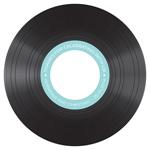 Classic Vinyl Diecut CD Label