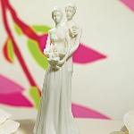 Contemporary Bride & Groom Figurine