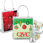 Corporate Hershey�s Kisses Gift Tote Holiday