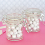 DIY Blank Glass Jar with Swing Top Lid