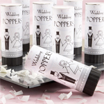 Eco-Friendly Wedding Poppers - 12 pieces