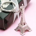 Eiffel Tower Key Chain Favor