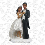 Ethnic Wedding Couple Favor