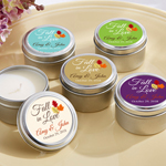 Fall in Love Personalized Travel Candle