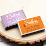 Falling in Love Personalized Matchboxes - 50 pcs