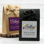 Falling in Love Personalized Wedding Candy Bags - 12 pcs