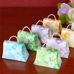 Floral Mini Purses Favor Kit Assorted Colors - Box of 50