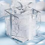 Ivory Gift Box Reception Card Holder
