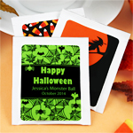 Halloween Personalized Tea Favors