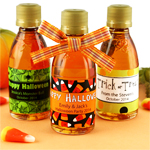 Halloween Personalized Maple Syrup