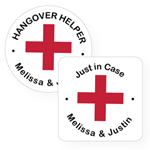 Hangover Personalized Labels and Stickers - 20 pieces
