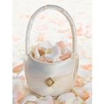 Ivory Diamond Flower Basket