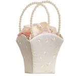 Embroidered Flower Girl Baskets