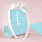 Key Monogram Cellophane Bag Insert