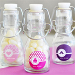 MOD Pattern Theme Mini Glass Bottles