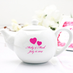 Personalized Mini Teapot Favors - Exclusive