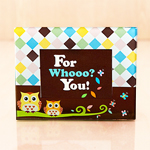 Mom and Baby Owl Picture Frame Favor