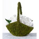 Moss Flower Basket