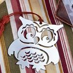 Owl Design Bookmark Favors