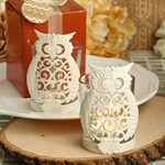 Owl Votive Candle Holders