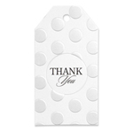 Pearl-Dotted Favor Cards - set of 25