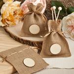 Perfect Plain Collection Burlap Treat Bags