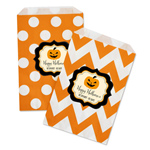 Personalized Classic Halloween Goodie Bags (Set of 12)